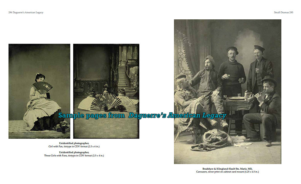 sample pages including tintypes - Daguerre's American Legacy - American photographic portraits 1840 to 1900