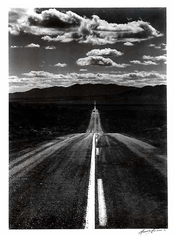 Ansel adams road nevada desert the american museum of for Ansel adams the mural project prints