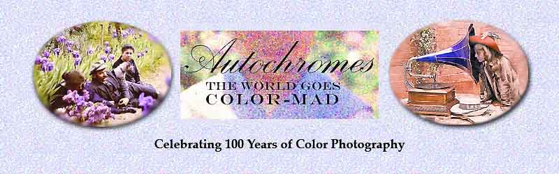 Lumiere Autochromes  the first color photographs natural color photos on glass made with potato starch