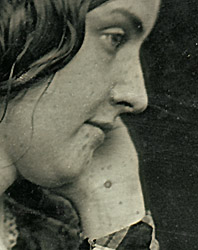 Is this the only surviving photograph of Edgar Allan Poe's wife, Virginia Clemm Poe?