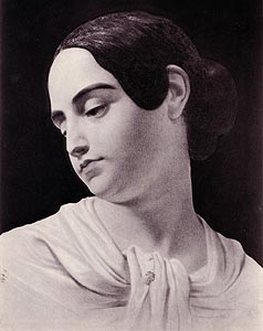 Virginia Clemm Poe portrait